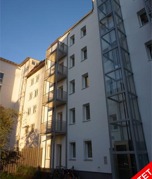 2-Zimmer-Apartment mit Balkon