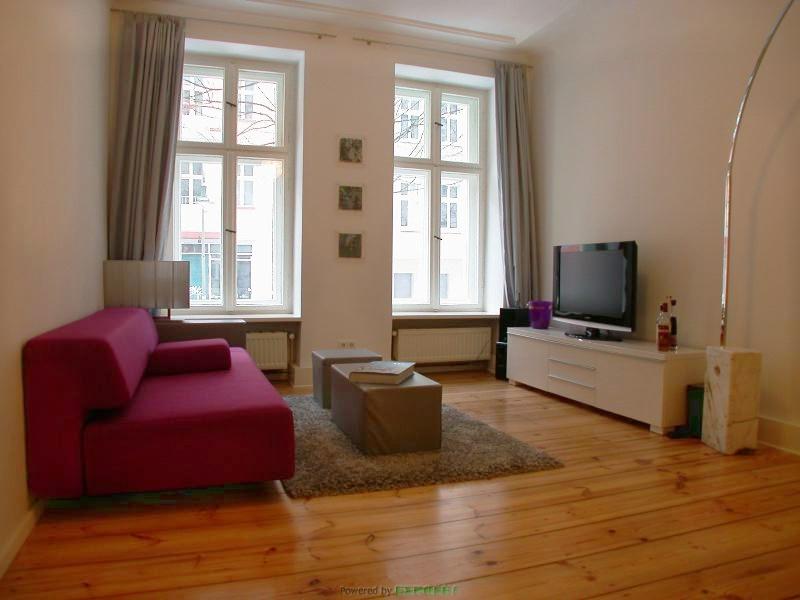 Prenzlauer Berg – Gemütlichkeit im Zentrum Prenzlauer Bergs – Zwei-Zimmer Apartment